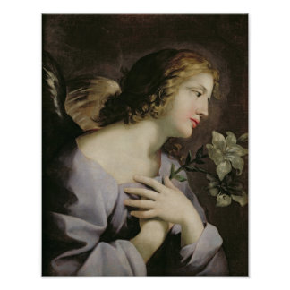 The Angel of the Annunciation, c.1650 Poster