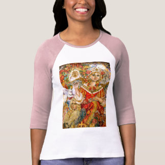 The angel of the poinsettia. T-Shirt