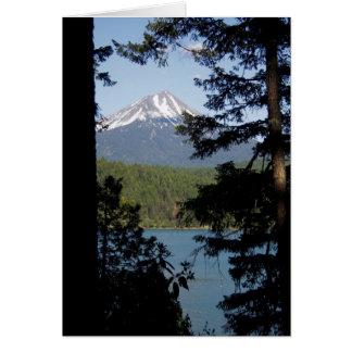 The Angel on Mt. Mcgloughlin Card