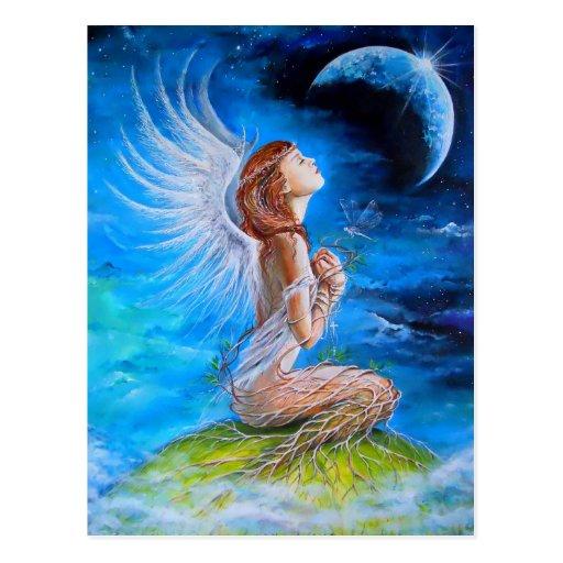 The Angel's Prayer Post Cards