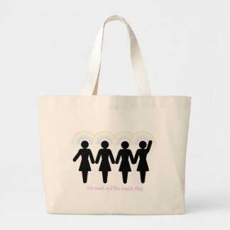 The angels ring large tote bag