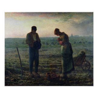 The Angelus, 1857-59 Poster