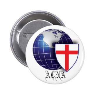 The Anglican Church of North America 6 Cm Round Badge