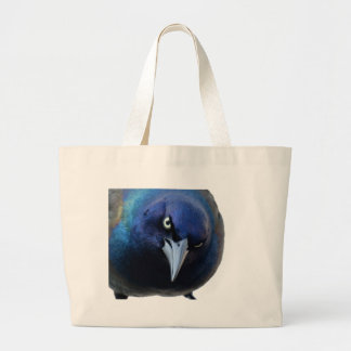 The Angry Grackle Large Tote Bag