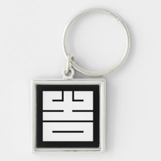 The angular letter of good fortune (to come, the key ring