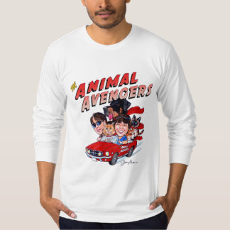 The Animal Avengers Fine Jersey Mens LS T-Shirt