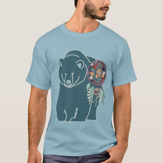 the Animal Totem Bear Spirit - Native American T-Shirt