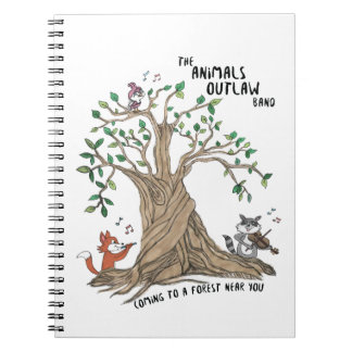 The Animals Outlaw Band Notebook