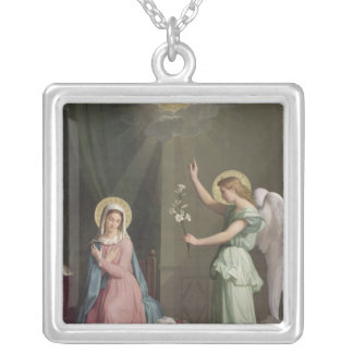 The Annunciation, 1859 Silver Plated Necklace