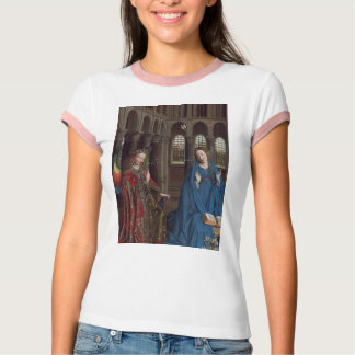 The Annunciation by Jan van Eyck Tees