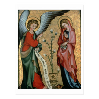 The Annunciation, c.1330 (oil on panel) Postcard