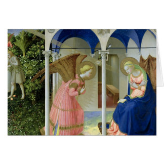 The Annunciation c 1430-32 Greeting Card