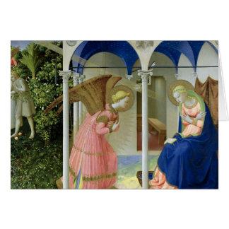 The Annunciation, c.1430-32 Card