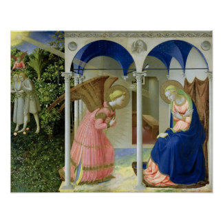 The Annunciation, c.1430-32 Poster