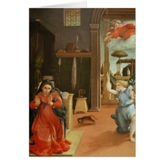 The Annunciation, c.1534-35 Card