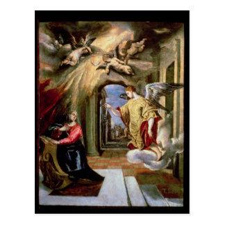 The Annunciation, c.1570-73 Postcard