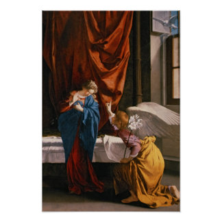 The Annunciation, c.1623 Poster