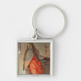The Annunciation, detail of the Virgin, c.1527 (fr Keychain