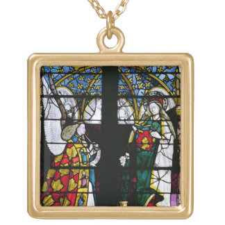 The Annunciation, from the Chapel of Jacques Coeur Gold Plated Necklace