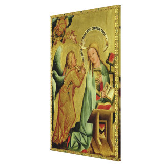 The Annunciation from the High Altar Gallery Wrap Canvas