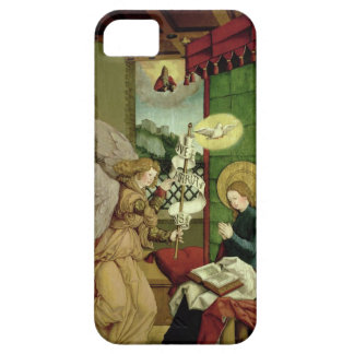 The Annunciation (oil on panel) iPhone 5 Case