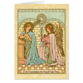 The Annunciation  (RLS 04) Card