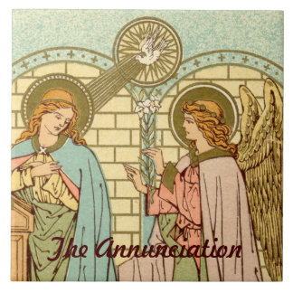 The Annunciation  (RLS 04) Tile
