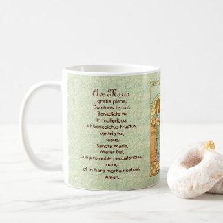 The Annunciation  (RLS 04) with Prayers Coffee Mug