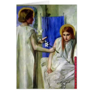 The Annunciation..Rosetti Card