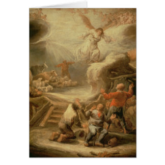 The Annunciation to the Shepherds Card