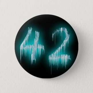 The Answer 6 Cm Round Badge