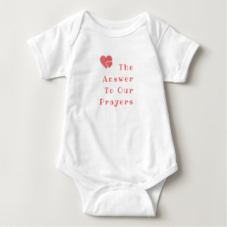 The Answer to our Prayers - Baby Outfit Baby Bodysuit