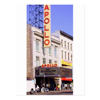 The Apollo in Harlem USA Postcard