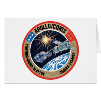 TheApollo–Soyuz Test Project(ASTP) Card