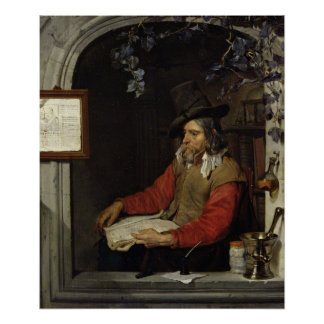 The Apothecary or, The Chemist Poster