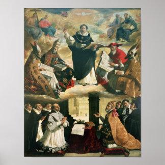 The Apotheosis of St. Thomas Aquinas, 1631 Poster