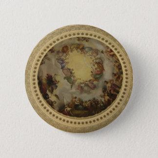 The Apotheosis of Washington  Washington DC Art 6 Cm Round Badge