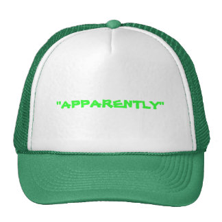 THE APPARENTLY KID CAP HATS