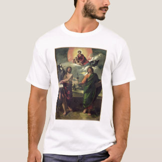 The Apparition of the Virgin to the Saints John th T-Shirt