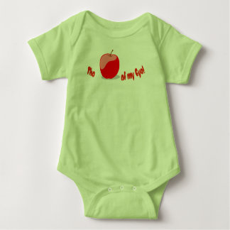 """The APPLE of MY EYE"" Baby Bodysuit"