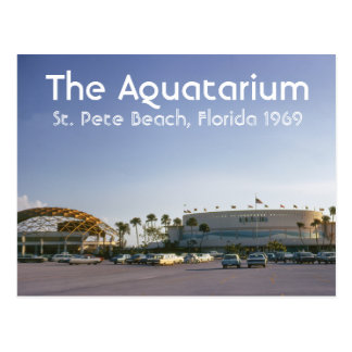 The Aquatarium St. Pete Beach, Florida Postcard