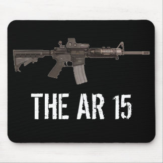 THE AR 15 MOUSE PAD