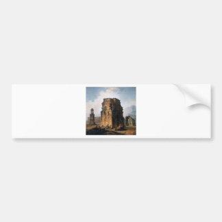 The Arc de Triomphe and the Theatre of Orange Bumper Sticker