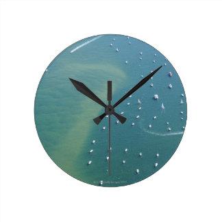 The Arcachon Bassin Entry Round Clock