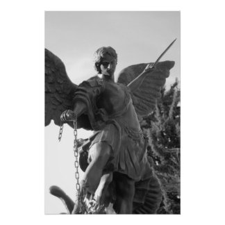 The arch angel michael poster