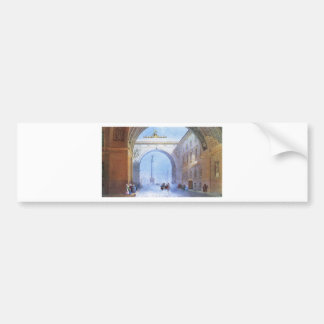 The Arch of the General Headquarters Building Bumper Sticker