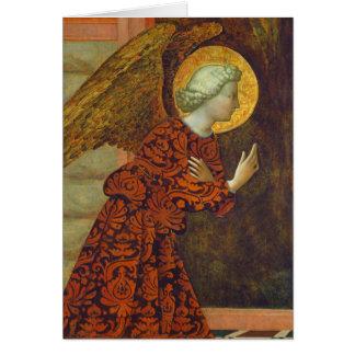 The Archangel Gabriel, c. 1430 (tempera on panel) Card