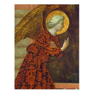 The Archangel Gabriel, c. 1430 (tempera on panel) Postcard