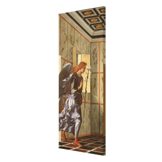 The Archangel Gabriel, from The Annunciation dipty Canvas Print