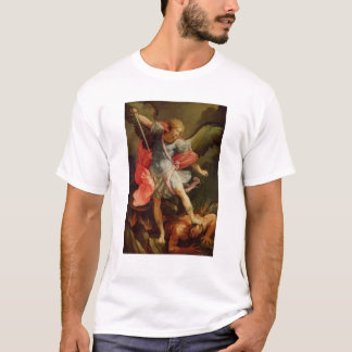 The Archangel Michael defeating Satan T-Shirt